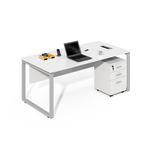 Wholesale office furniture simple white computer desk for sale CF-LY1206A