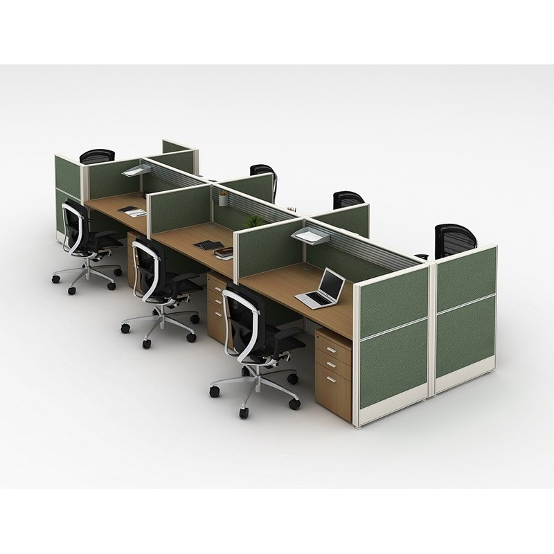 WS-T8WX2 6 person workstation