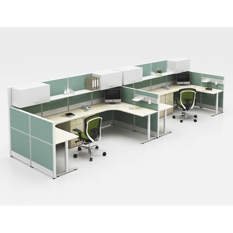 WS-T8WX1 Full Height Workstation&Desk Screen Partition