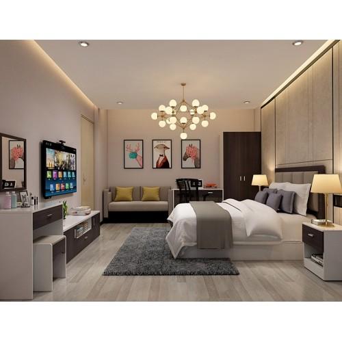 WS-AL20 Hotel Room 2 door Wardrobe
