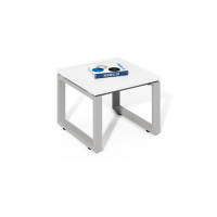 Modern Wooden White Side Table WS-LY1206