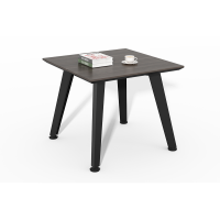 Wholesale High Quality wood black square coffee table WS-HM6060