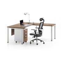 WS-CD0118 L Shape Office Furniture Executive Desk