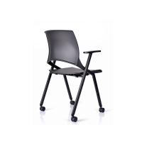 White/Black Painted Removable Book Basket folding chairs for sale WS-ID05