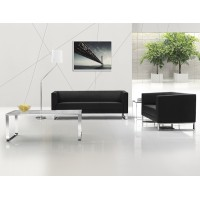 Commercial Furniture High Quality Leather Office Sofa Sets