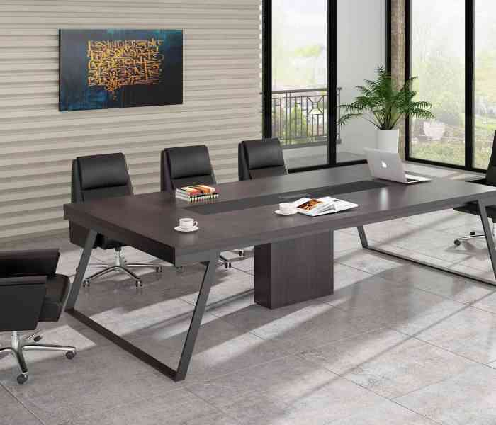 How to maintain office furniture meeting desk?