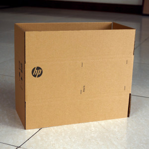Brown 5 ply Corrugated Cardboard Packaging Box