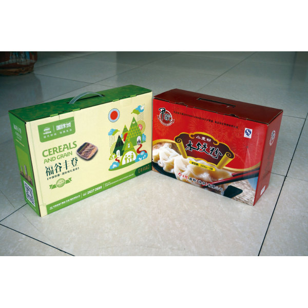 Small Color Printing Corrugated Packaging Box For Food&Beverage