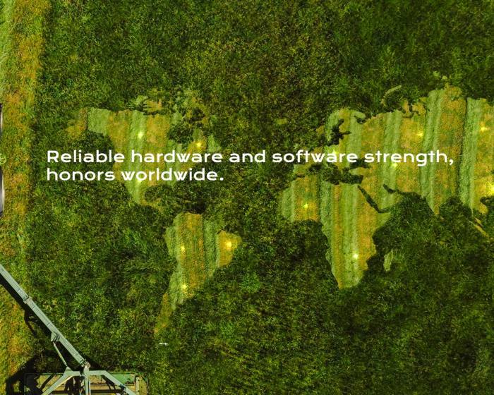 Landtop agricultural machinery unmanned technology, stunning the world