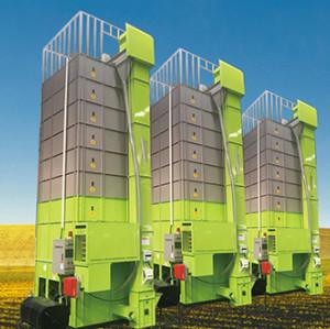LANDTOP High Reputation Low Damage Circulating Cross-Flow Rice Machine grains dryer