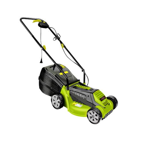 Landtop 1300W Weed Mower Manual Hand Push Blade 32cm Cutting Width Electric Lawn Mower