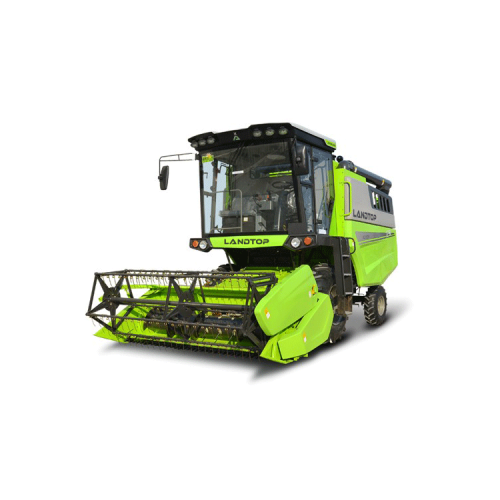 Wheeled-Type Grain Combine Rice Harvester