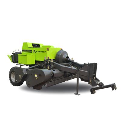 Landtop Better Adaptability High Quality Low Consumption Adjusting round Grass straw Baler Machine