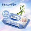 Unscented Baby Wipes, Suitable for Sensitive Skin, 80 pcs, Flip-Top Packs