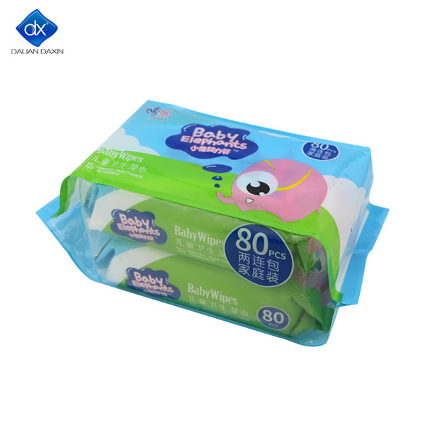 Hypoallergenic Baby Wipes Biodegradable Compostable Vegan Registered Plastic Free, 80 Count (Pack of 2)