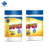 Daxin Disinfectant Wipes, Multi-Surface Lemon Antibacterial Cleaning Wipes, 80 pcs
