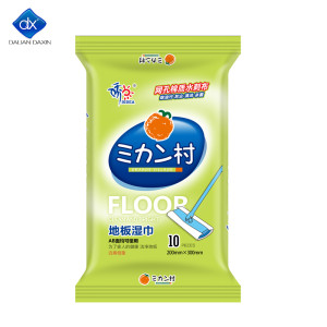 Disinfectant Floor Wipes |10 Wipes | Soft and Durable | Works on Wood,Laminate,Tile | Friendly Product