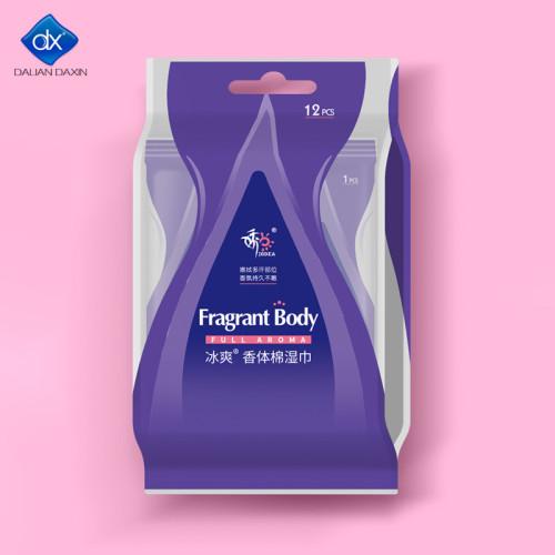 Feminine Hygiene Wipes Plant-Based, Aluminum Free, Natural Deodorant Wipes | All Skin Types 12pcs.