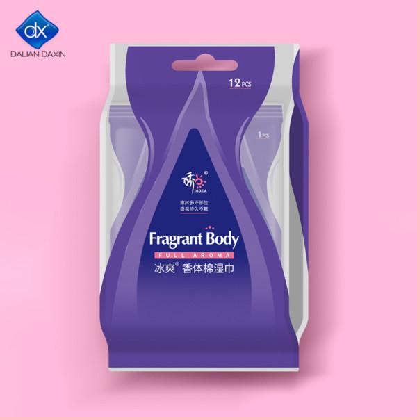 Feminine Hygiene Wipes Plant-Based, Aluminum Free, Natural Deodorant Wipes   All Skin Types 12pcs.