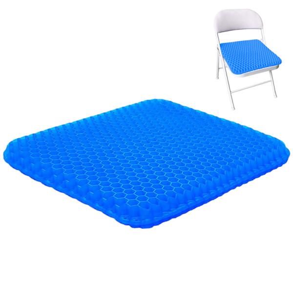 Coccyx Orthopedic Comfort Memory Foam Gel-enhanced wheelchair Seat Cushion