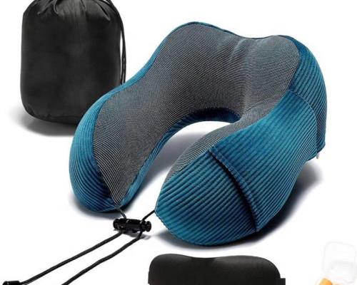 Memory foam travel U shape cervical spondylosis neck pillow