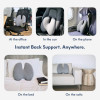 Orthopedic Coccyx Sciatica Back Seat Cushion for Office Chair Car hip protecter