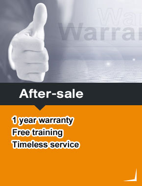 After-sale 1year warranty  free training timeless service