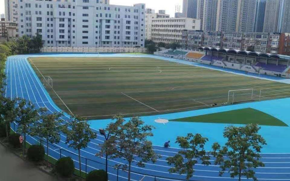 Rubber Running Track Mat Athletics Track For School